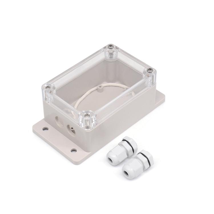 Caja de empalme impermeable IP66, funda impermeable, carcasa resistente al agua para Sonoff básica/RF/Dual/Pow para árbol de Navidad, luces para el hogar 1 pz