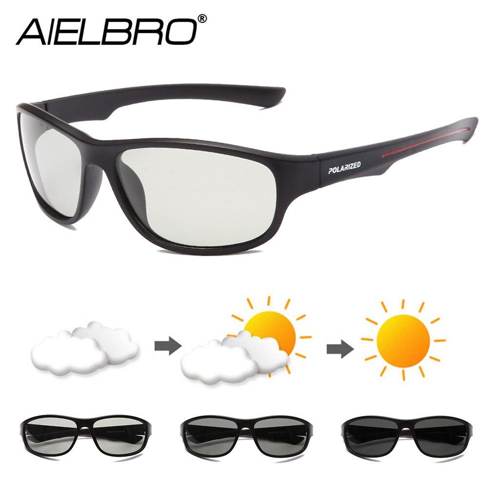 Gafas AIELBRO fotocromáticas para ciclismo 2020 nuevas gafas polarizadas para ciclismo