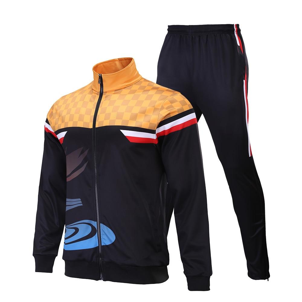 AliExpress - New Soccer Jerseys Set Running Training Suit Men Women Boys Design Sublimation Printing Football Training Tracksuit Jumpsuit