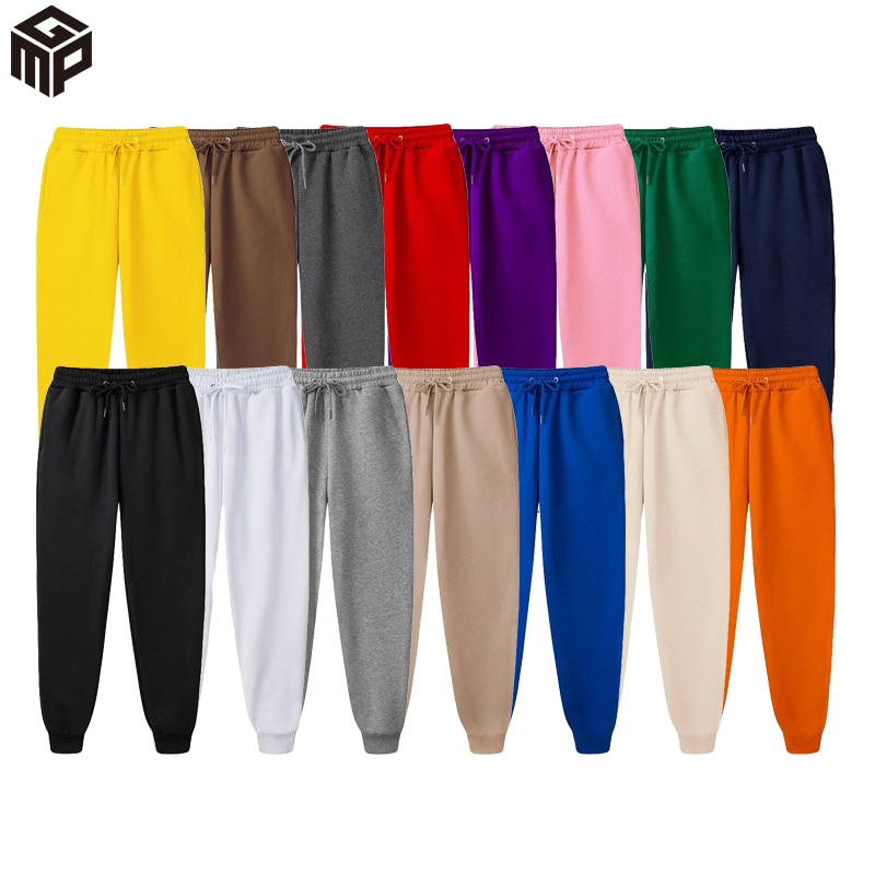 Running pants men's cotton soft fitness jogging pants sports pants trousers sports training pants long clothing 2021 new seasons