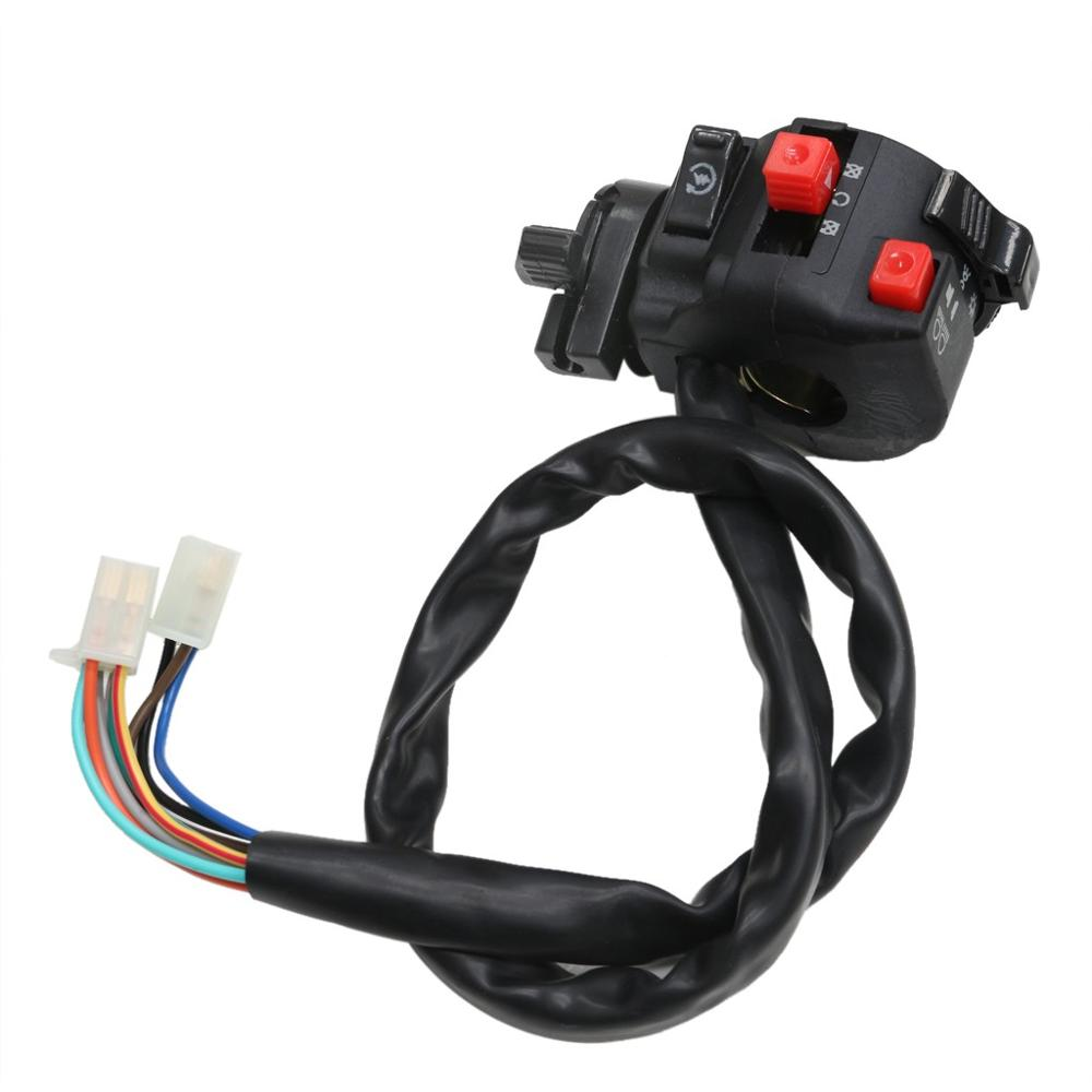 Botón de arranque de luz ATV Kill con interruptor de inductancia para motocicleta ATV Quad 150-300cc