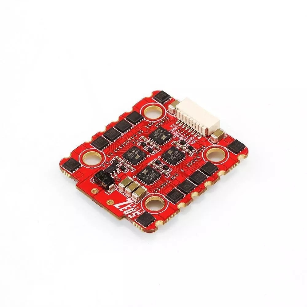 20x20mm HGLRC Zeus 30A 4in1 FPV 3-6S BLheli_32 Brushless ESC for FPV Stack FPV Racing Freestyle Drones Replacement Parts enlarge