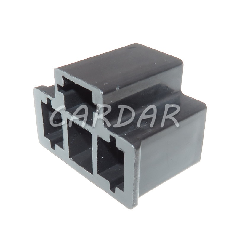 1 Set PA66 Motorcycle H4 3 Pin Unsealed Cable Wire Connector Electrical Connector Automotive Plug Lamp Holder Socket