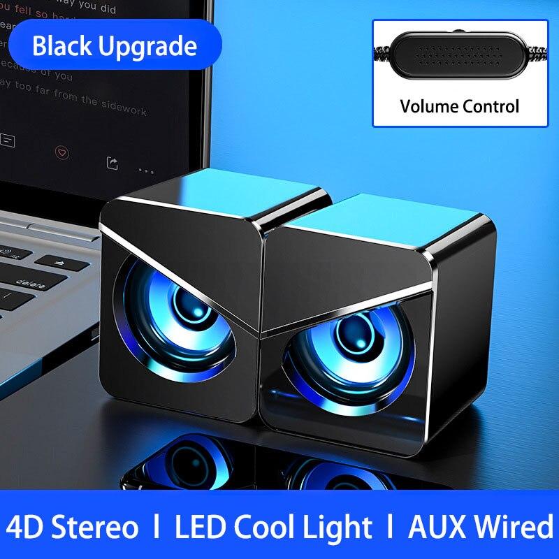 Altavoces USB Para Ordenador De escritorio, dispositivo De audio Para PC, con...