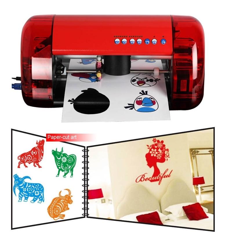 آلة قطع الراسمة لقطع الفينيل ، آلة رسم صغيرة مع قاطع الكنتور ، A4 ، تصميم عصري ، جديد
