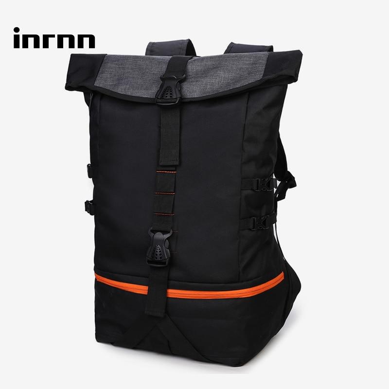 Inrnn-حقيبة ظهر رياضية للرجال ، حقيبة ظهر للكمبيوتر المحمول ذات سعة كبيرة للمراهقين ، حقيبة سفر عصرية
