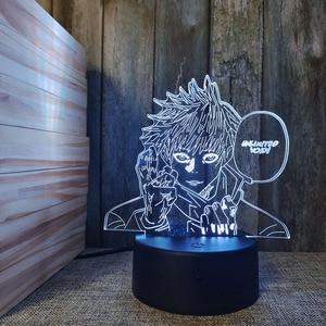 Home Romantic Table Lamp Anime Creative Night Lamp LED For Children's Room Decor Carton Figures Acrylic Shape