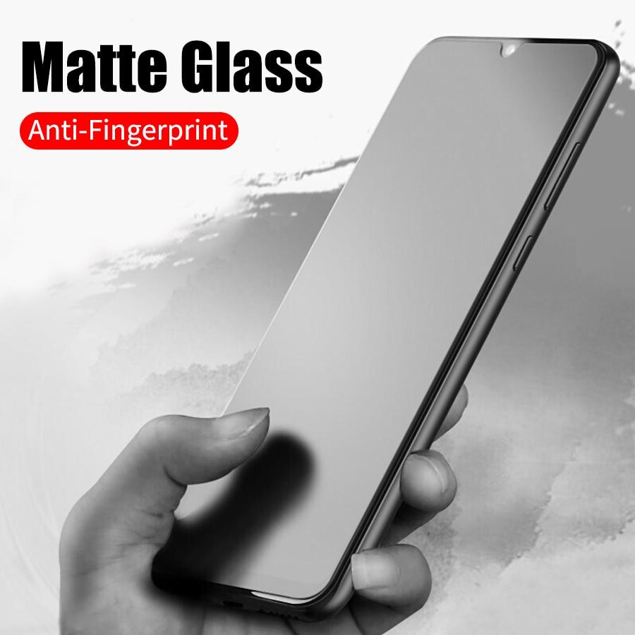 Matte Frosted Gehärtetem Glas für Xiaomi Pocophone F1 CC9 Mi Redmi K20 Pro A3 A2 Lite Anmerkung 8T 7 pro 9 SE Max 3 Screen Protector