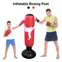 1.5M enfants adultes PVC gonflable sac de sable pliable gobelet poinçonnage sac de sable sac de boxe pour Fitness gymnastique entraînement soulagement du Stress