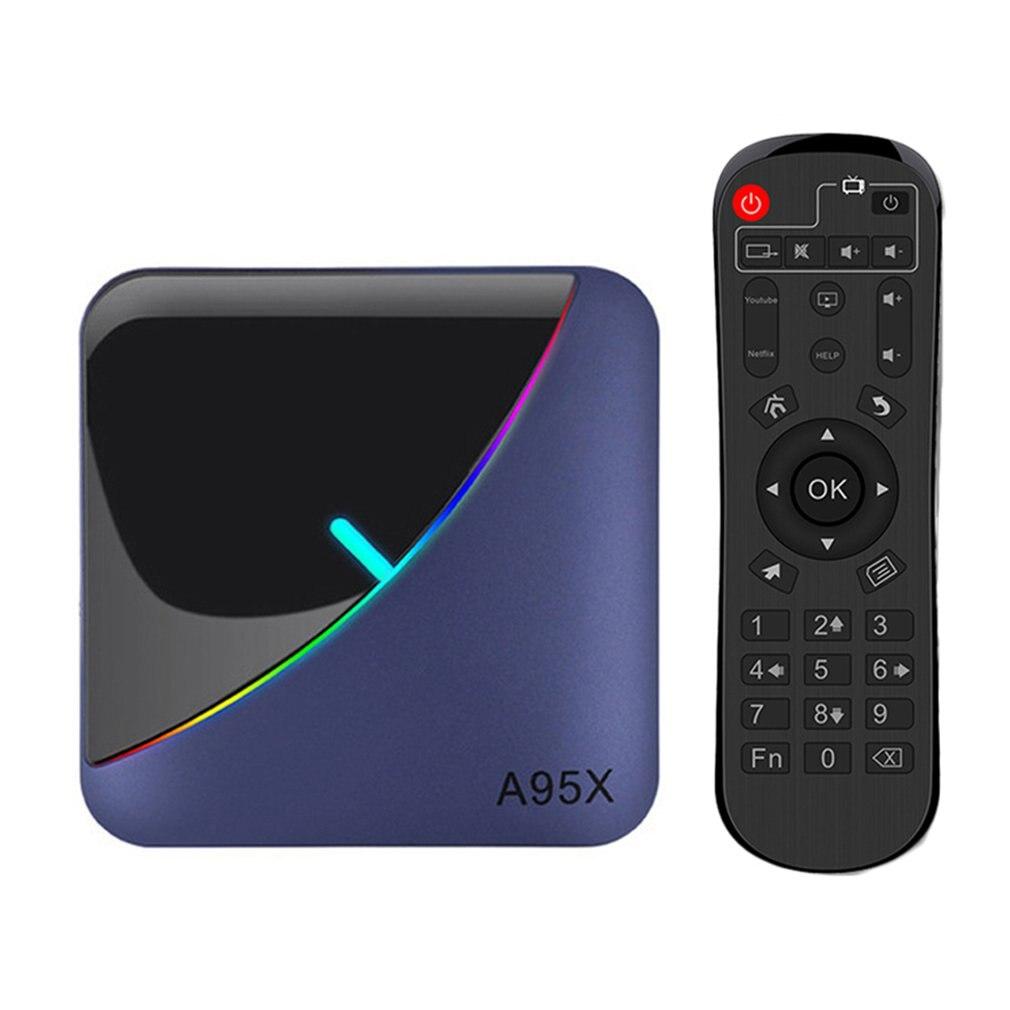 Caja de TV X10 PLUS Smart TV BOX Android 9,0 Allwinner H6 UHD 4K reproductor de medios 6K decodificación de imagen 2,4G WiFi Android caja