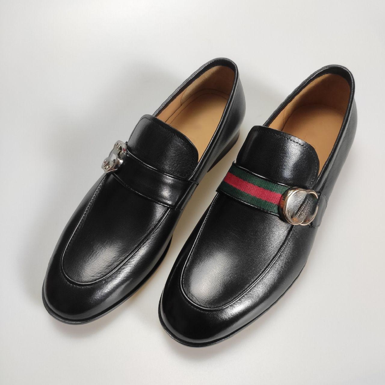 21 الربيع سلسلة Lefu الأحذية ، الراقية الرجال الأعمال الرسمية أحذية من الجلد ،