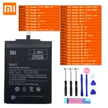 Xiaomi Originale Redmi Hongmi Note Mi Max 2 A2 3 3S 4 4A 4C 4X Mélanger 5 5A 5X 5S 6 6X 7 8 9 Lite Plus Pro Pocophone F1 Téléphone Batterie