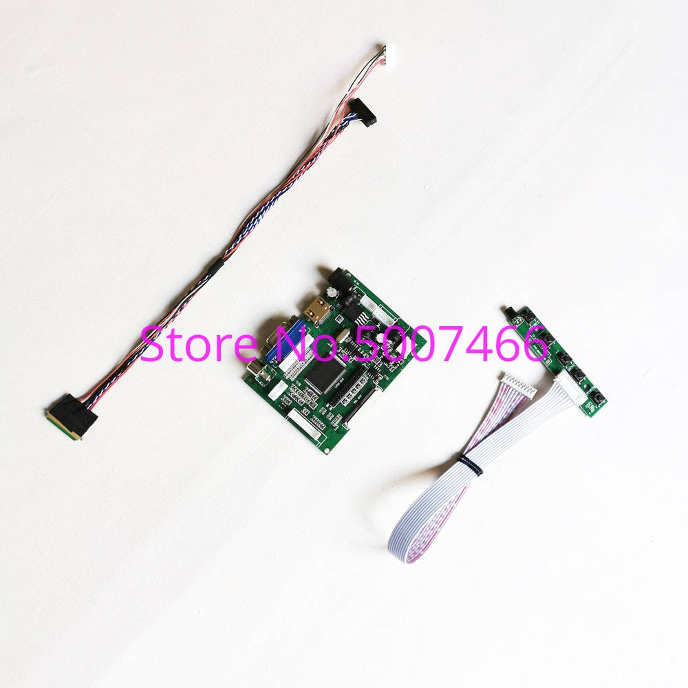 Fit LP133WH2 (TL)(A1)/(TL)(A2)/(TL)(A3)/(TL)(A4) 40-Pin 1366*768 LVDS LED 2AV HDMI VGA LCD panel display control drive card kit