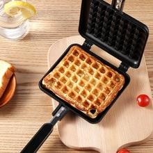 Non-Stick Waffles Maker Mold Square Iron Machine Baking Pan Cake Maker Kitchen Tools Flavor Egg Mix Oven