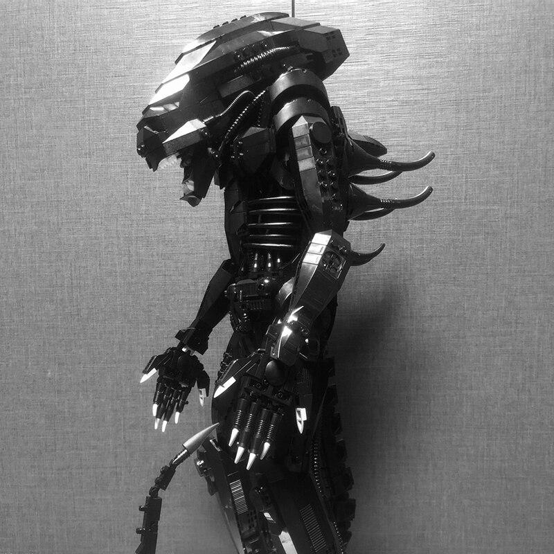 The Technic MOC Big Model XB04001 Genuine Movie Series The Alien Robot Set Building Blocks Toys Bricks Assembly Robot Birthday