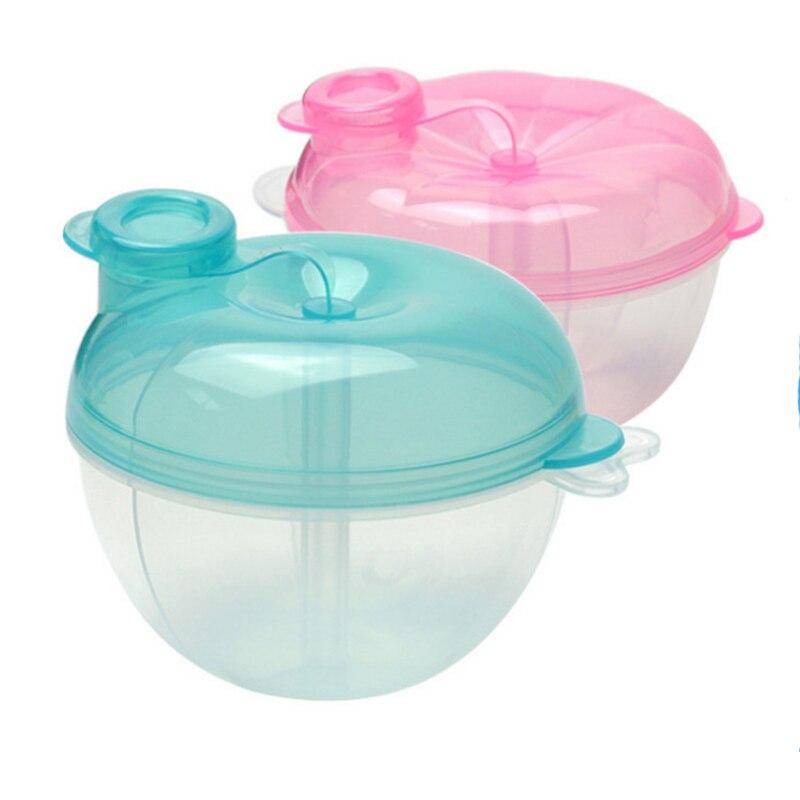 Caja de leche en polvo para almacenamiento de alimentos para bebés, dispensador de fórmula, caja de almacenamiento de granos para bebés, contenedor de leche para niños pequeños, botella de comida para bebés