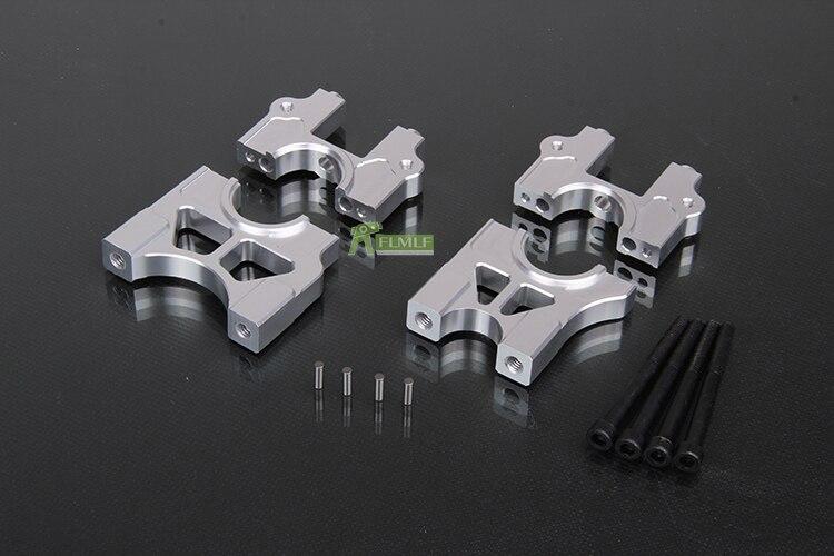 Aleación CNC mecanizado de precisión todo Metal Centro diferencial dividido fácil de desmontar soporte para 1/5 Losi 5ive T Rovan LT KMX2
