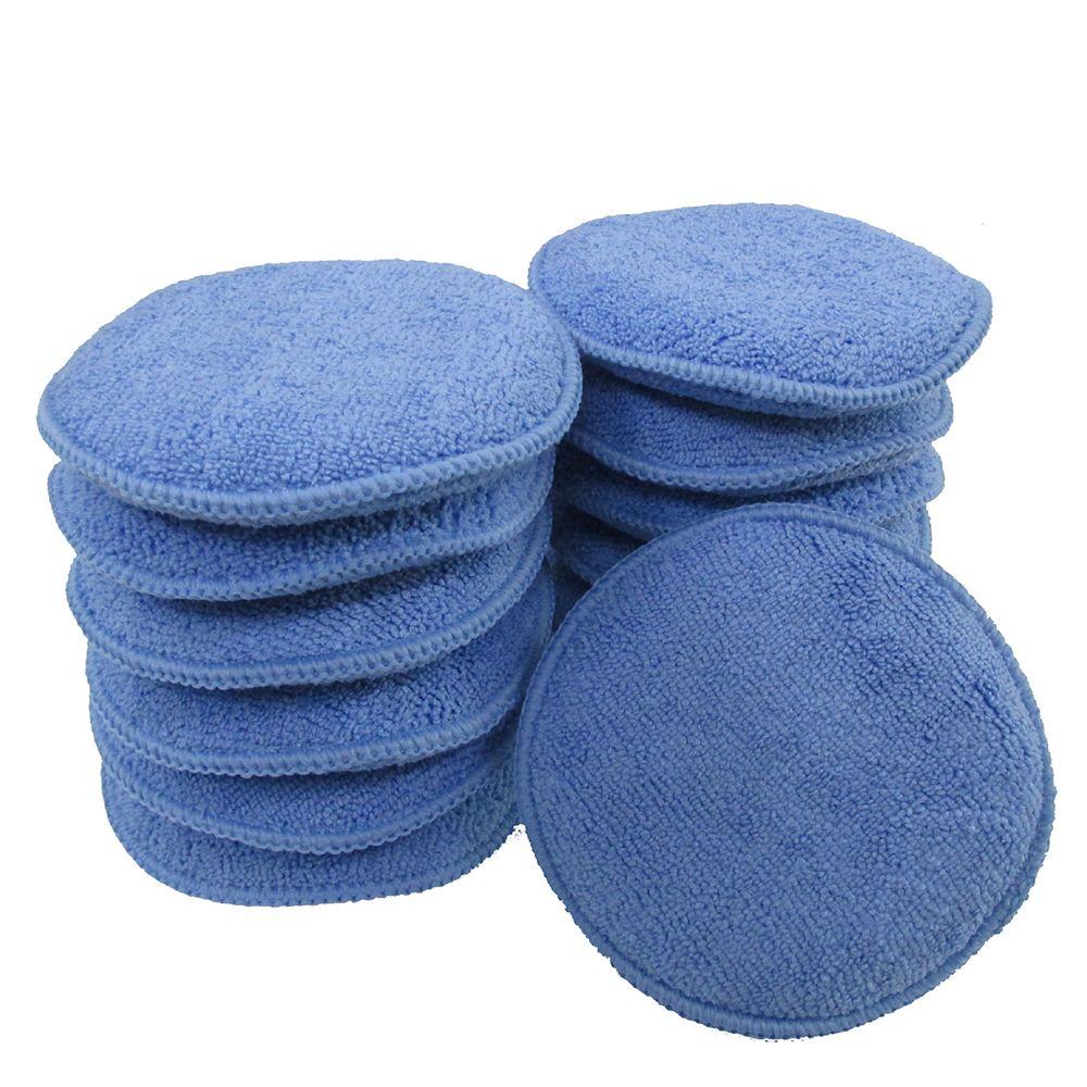 5pcs Clean Buffer Car Cleaning Soft Vehicle Accessories Foam Applicator Car Wax Sponge Dust Remove A