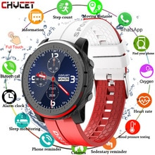 Смарт часы CHYCET, полностью сенсорные, Bluetooth, с функцией вызова, 5,0, умные часы для мужчин и женщин, пульсометр, фитнес трекер, водонепроницаемые часы с музыкальным управлением
