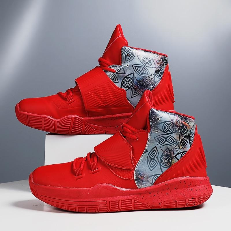 Zapatillas de baloncesto ligeras para hombre, deportivas transpirables antideslizantes para exteriores, a...