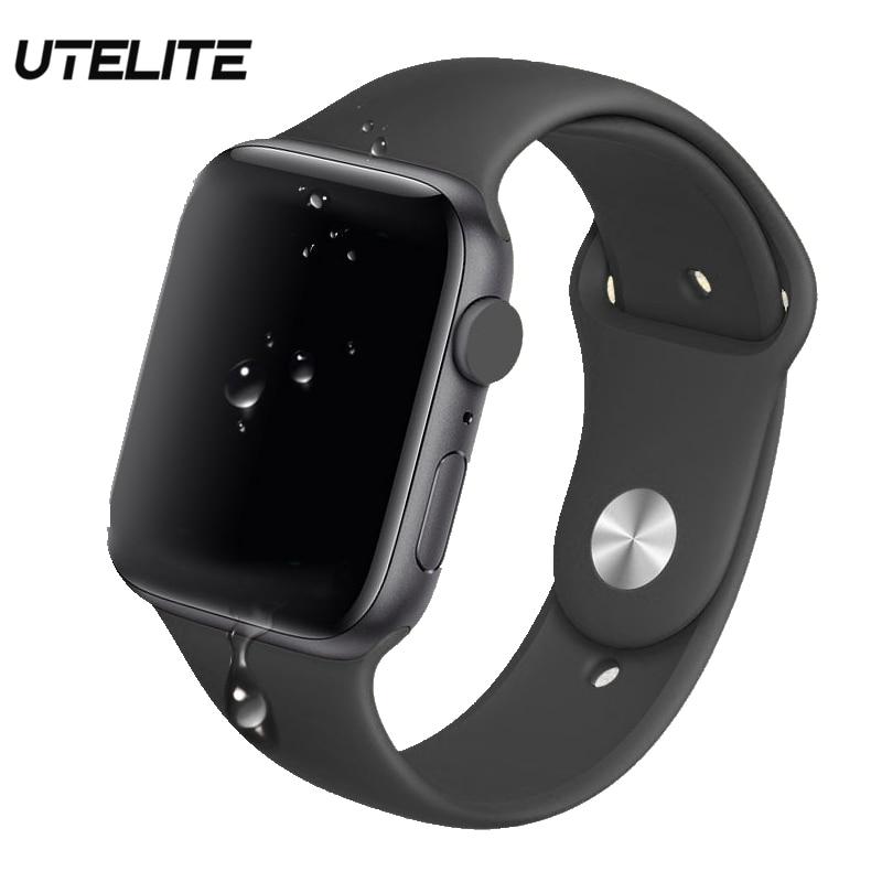 UTELITE Q99 IWO Pro Smart Watch Bluetooth Call 44MM Heart Rate Sleep Monitor Waterproof Clock Men Women ECG Sport Band PK IWO 12