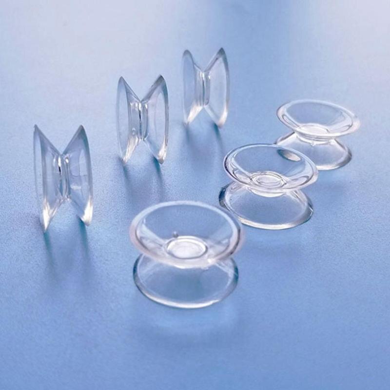 Новые 10 шт. двухсторонние присоски-присоски для стекла, пластиковые присоски ПВХ пластиковые маленькие присоски без следа