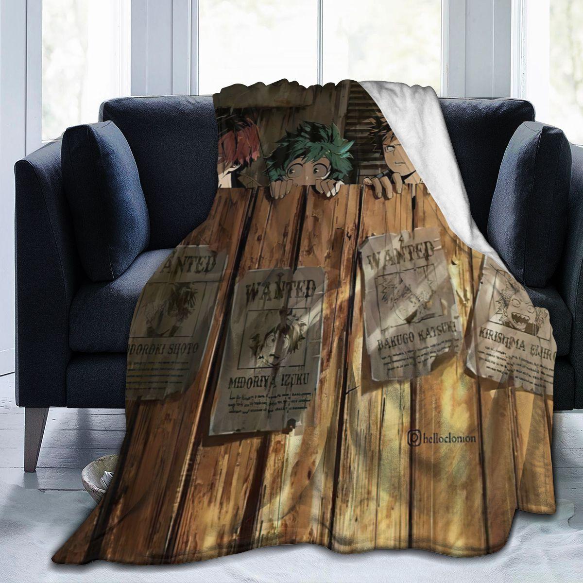 الترا لينة أريكة غطاء بطانية بطانية الفراش الكرتون الكرتون الفانيلا plied أريكة ديكور غرفة نوم للأطفال والكبار 26201