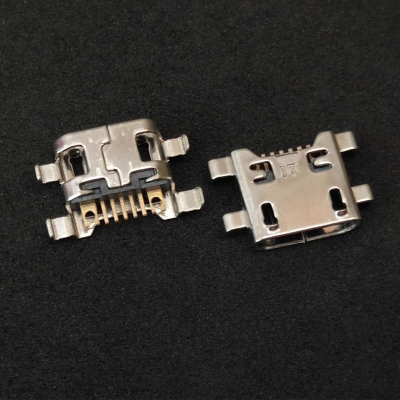 2 pçs/lote micro usb porta de carga tomada jack dock plug para lg g4 f500 h815 para lg v10 k10 k420 k428 conector carregamento