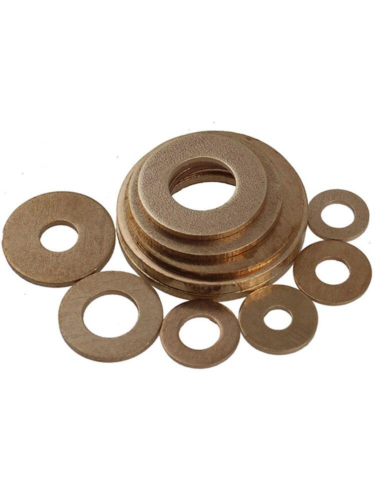 GB97 copper washer flat thickened brass metal screw M2M3M4-M24