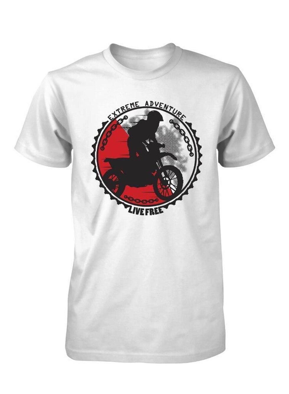 Bnwt Extreme Ride Moto Cross Pitbike Bmx niños camiseta 3-15 años Gyms Fitness camiseta