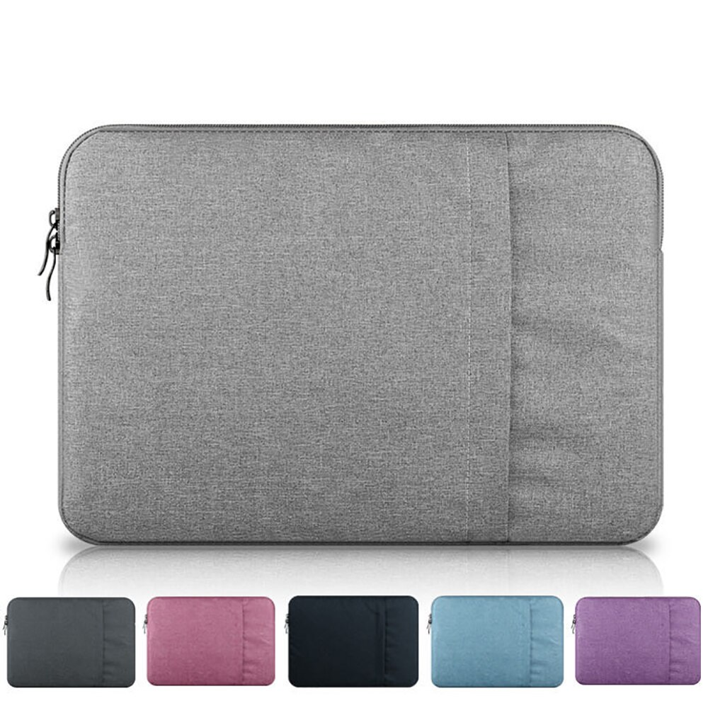 Laptop Sleeve Bag 12 13 13.3 14 15 15.6 Inch Waterproof Notebook Bag Funda For Macbook Air Pro 13 15 16 Inch Computer Case Cover