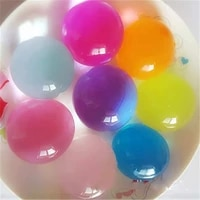 100g Grand Hydrogel Perle En Forme De Gros 3-8cm Perles Deau De Sol En Cristal Boue Cultiver Boule Mariage Croissante Ampoules Decor A La Maison Livraison Directe