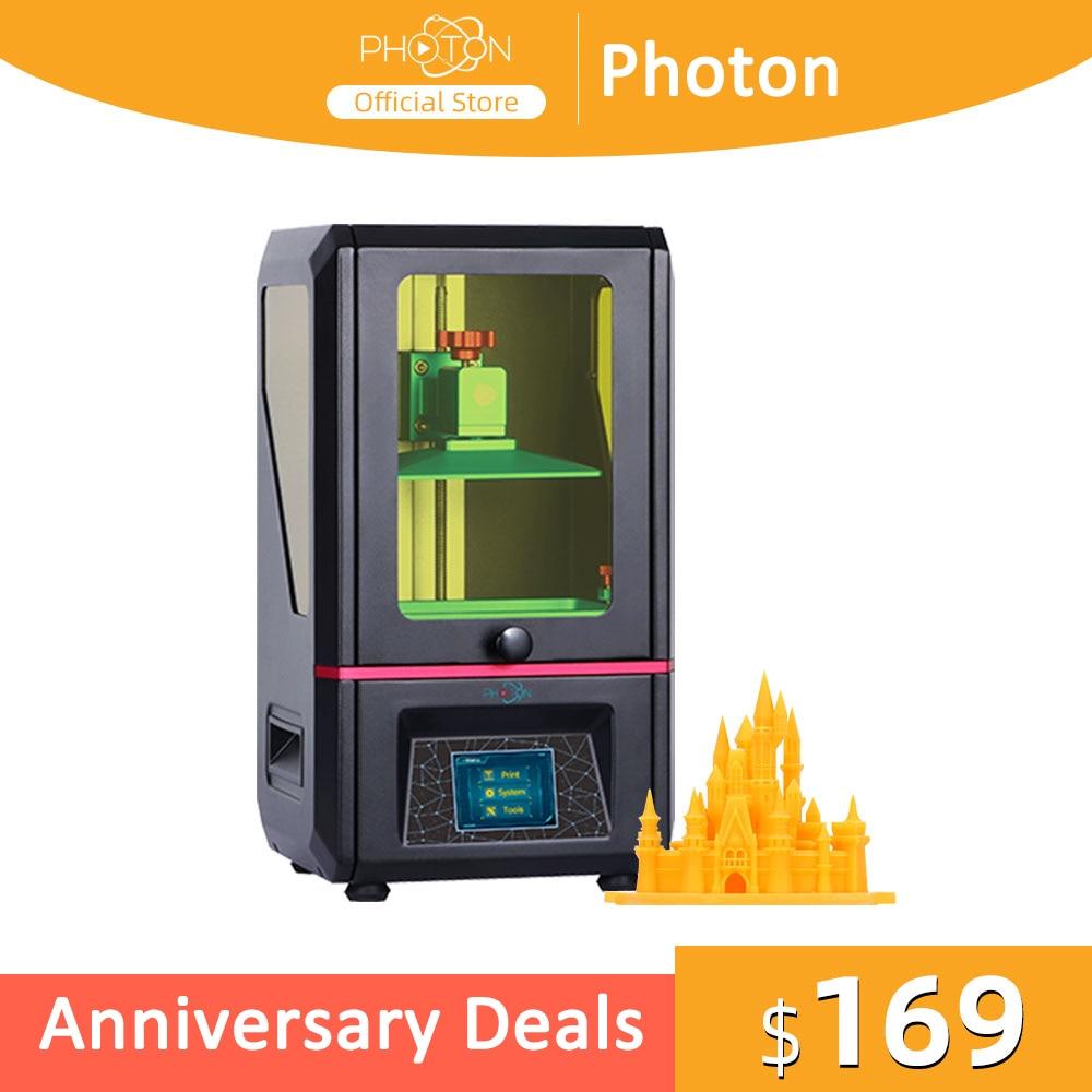 Fotón LCD basado SLA 3d impresora UV Photocuring 115*65*155mm construir tamaño 2K pantalla Anycubic alta precisión envío rápido
