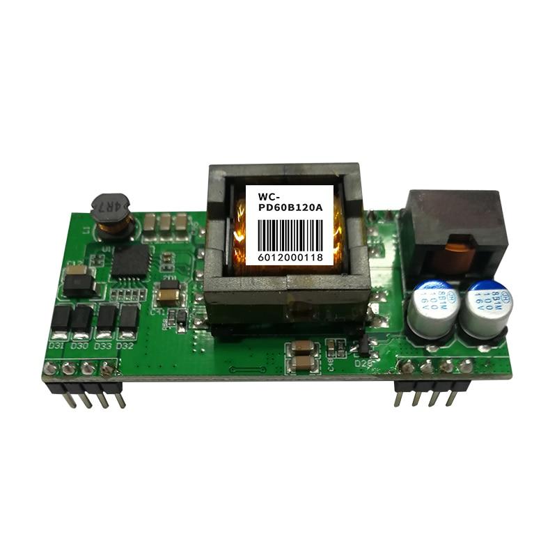 الامتثال لمعيار IEEE802.3 Bt ، ودعم جيجابت و 10 جيجابت ، وحدة بو معزولة ، PD تلقي نهاية ، عالية الطاقة