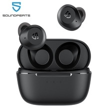 SoundPEATS T2 Wireless Earbuds ANC Noise Cancelling Bluetooth V5.1 Earphones Transparency Mode With