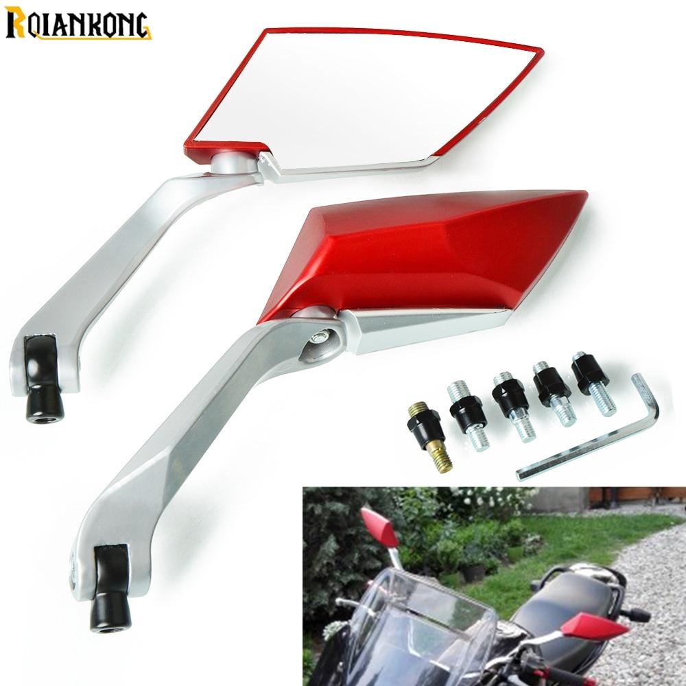 Motorcycle screw dirt bike side mirror For  HUSQVARNA TC 65 85 CR/WR125-300 Honda XR 230 250 MOTARD motocross rearview mirror