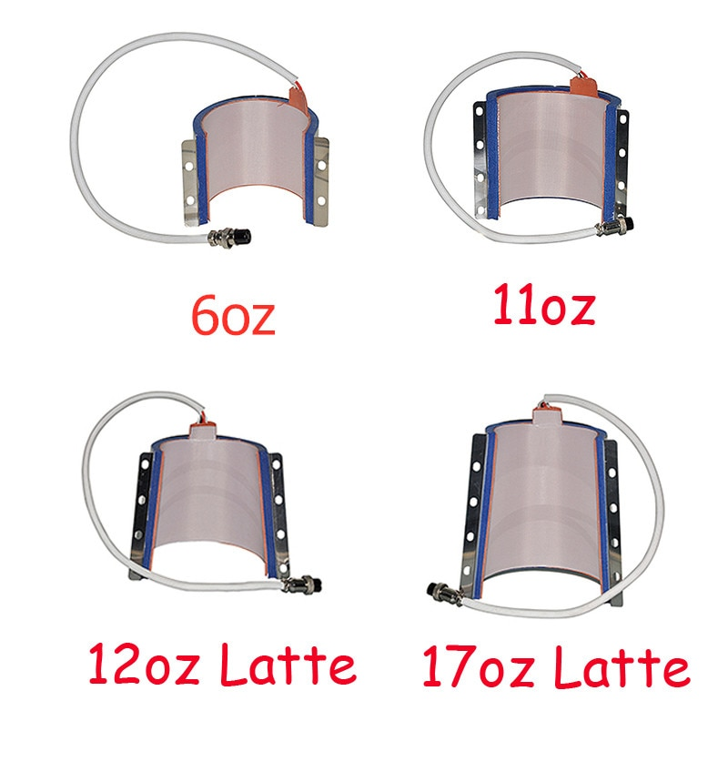 Mug Cup press Asseccories Heating Pad For Sublimation Machine DIY Latte Mug Cup