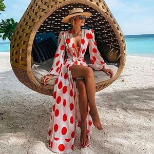 Beach Dress Beach Cover Up Women Swimsuit Cover Up Sleeve Beach Tunic Dress Robe Solid White Dress