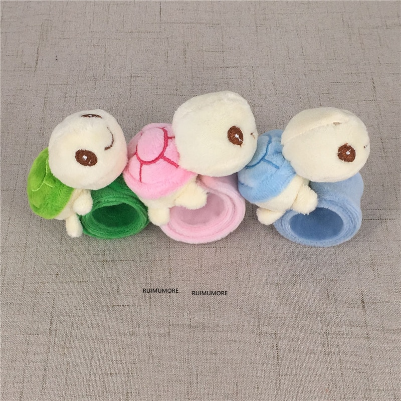kids Tortoise Plush Stuffed TOY , hand band plush DOLL ; Party decoration plush Turtle toy