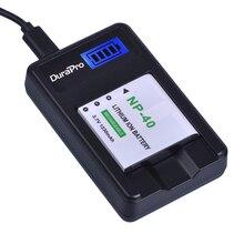 1 pièces NP-40 NP 40 NP40 Rechargeable Li-ion Batterie + Chargeur USB pour Casio EX-Z400 FC100 FC150 FC160S P505 P600 P700 Z300 Z600 EX