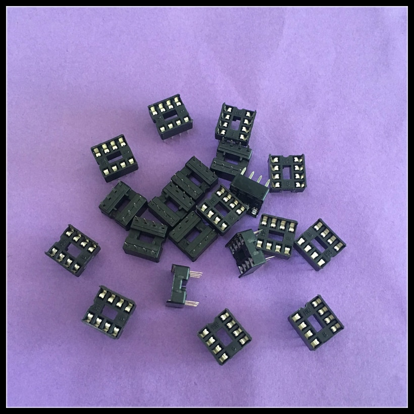 5pcs lot 25 pin d sub db25 pin female solder type welding connector 20pcs/lot ST079Y 8 Pin DIP8 IC Sockets Adaptor Solder Type IC Connector Chip Base Drop Shipping