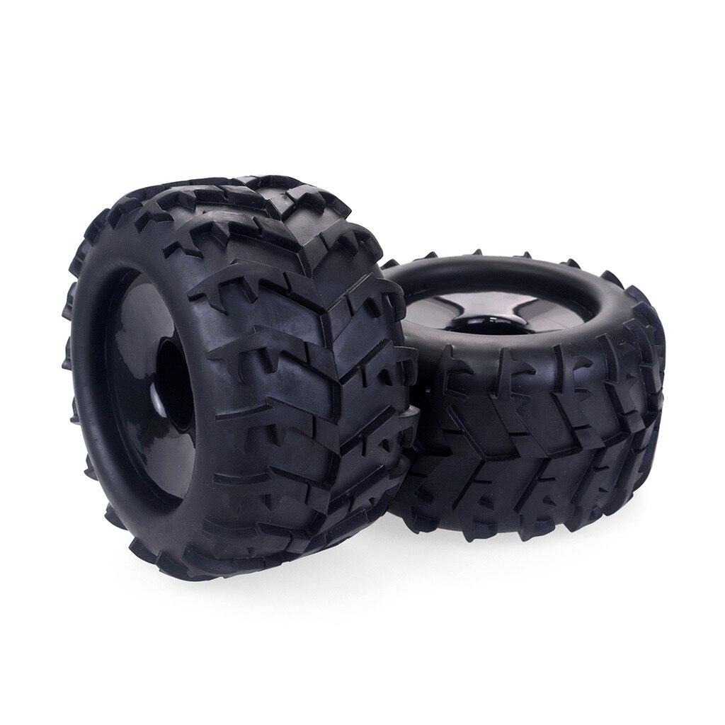 RC tarjeta Tire17mm Hub de rueda hexágono neumáticos para Hsp Redcat Kyosho Hobao Hongnor Team Losi GM DHK HPI Truggy Monster Truck Truggy