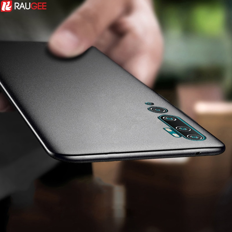 Funda de TPU para Xiaomi Mi Note 10 Lite, carcasa delgada mate a prueba de golpes para Xiaomi mi cc9 Pro Mi Note 10 Pro, funda versión Global