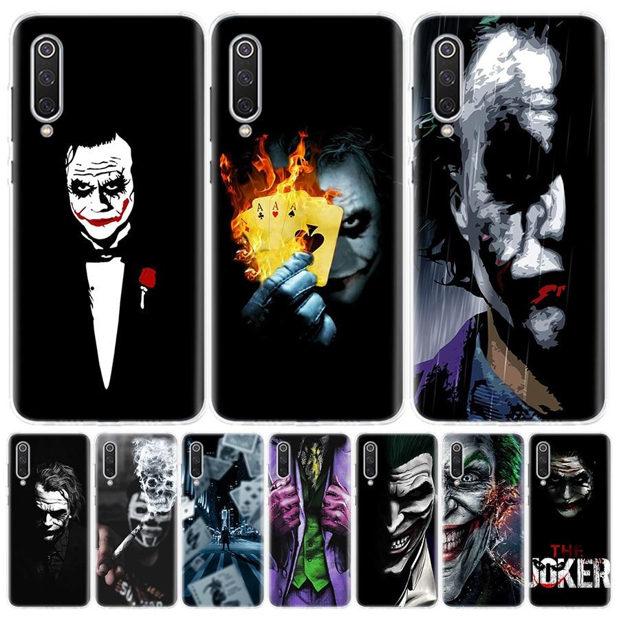 Joker Dark Black Knight Phone Case for Xiaomi Redmi Note 9S 8T 8 7 8A 7 7A 6A 4X S2 K20 K30 MI 9 8 CC9 F1 Pro Fashion Cover Capa