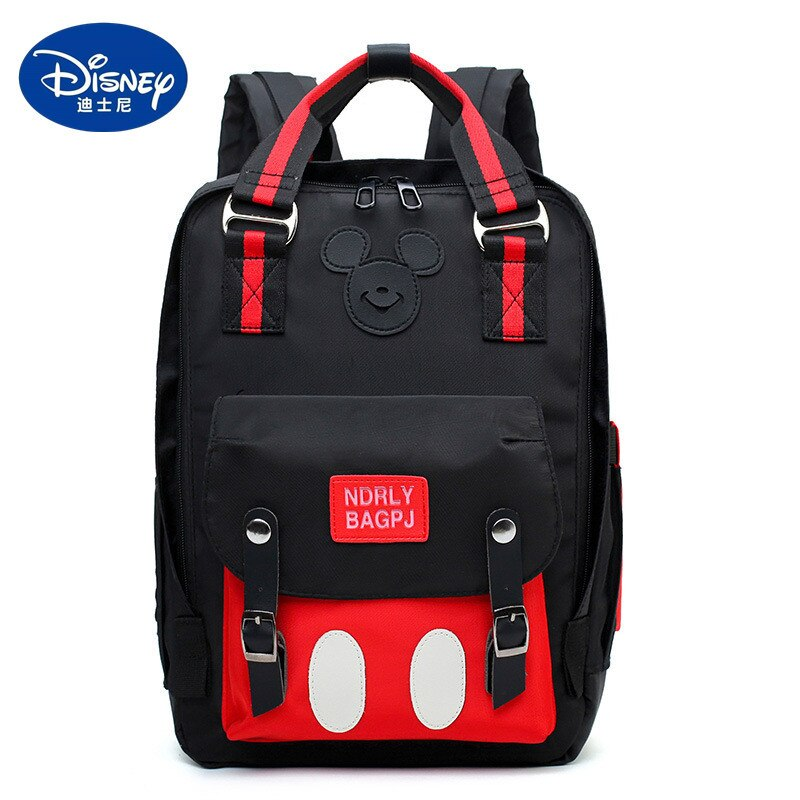 Disney Mickey mouse Diaper Bag Backpack for Mummy Maternity Bag for Stroller Bag Large Capacity Baby Nappy Bag Organizer New disney mickey mouse diaper bag waterproof baby care mummy bag maternity backpack large nappy bag oxford cloth baby bag