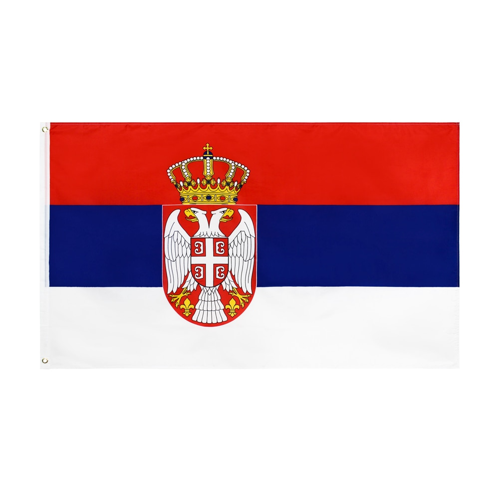 Xiangying x 90x150cm SRB RS Republika Srbija Bandera de Serbia