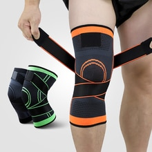 1PC Kneecap Wrap Around the Knee Pads knitted knee pads  Basketball Sports Safety Sportswear Accesso