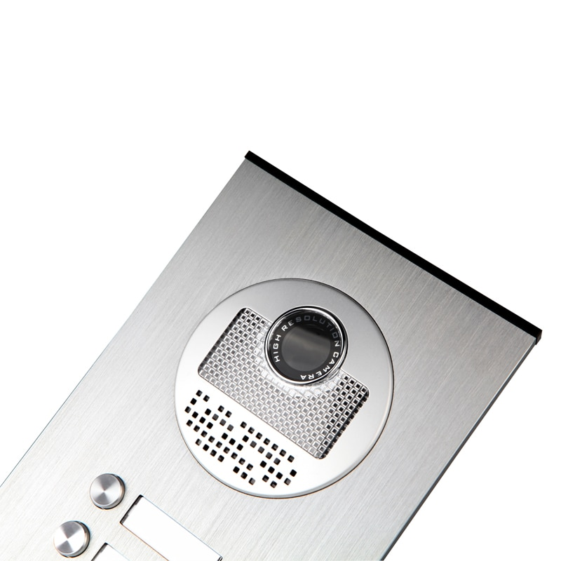 """FREE SHIP 7"""" Video Door Phone Intercom System RFID Access Doorbell Camera for 2 / 3 / 4 Family Apartment + Electric Strike Lock enlarge"""