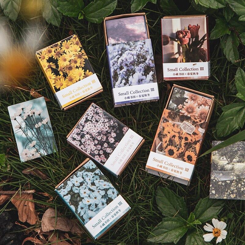 100-uds-retro-libro-vintage-planta-flores-kraft-papel-recortes-tarjetas-de-proyecto-de-diario-de-lomo-tarjetas