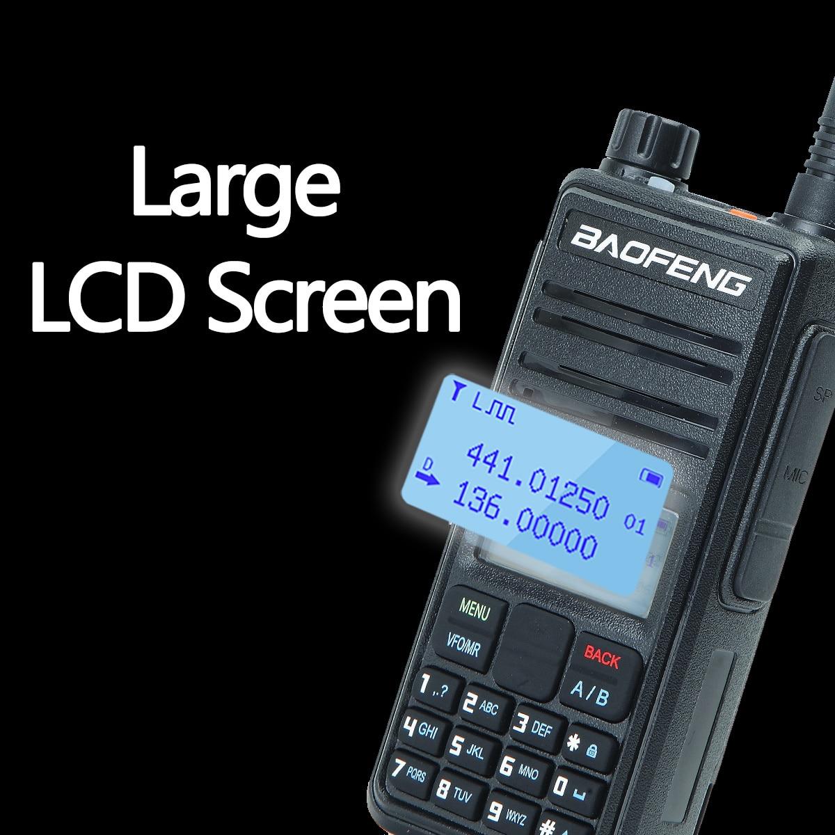 Baofeng DM-1801A Dual Time Slot DMR Tier I&II Radio Digital Analog 136-174/400-470MHz Walkie Talkie Hunting DM-5R DM-860 enlarge